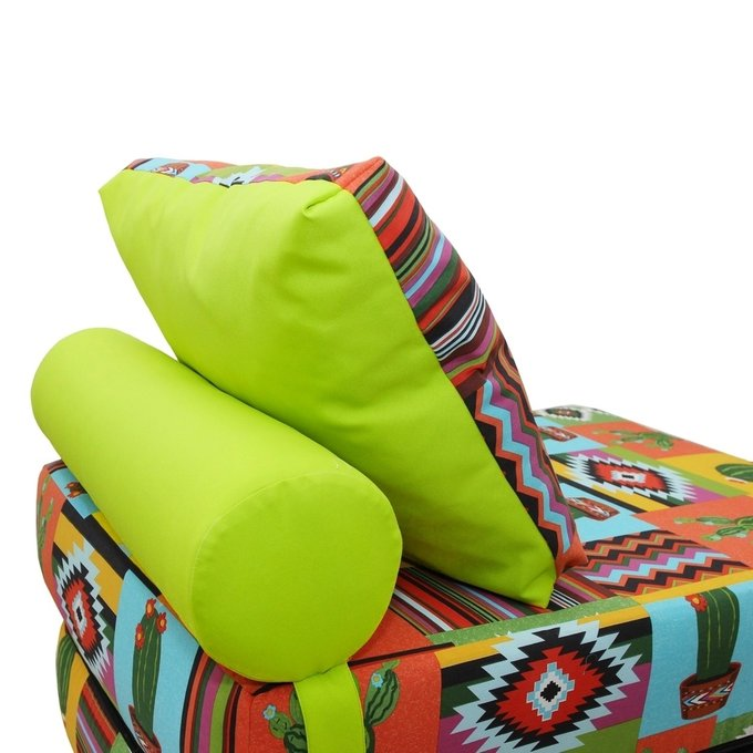 Кресло-кровать с подушкой и валиком