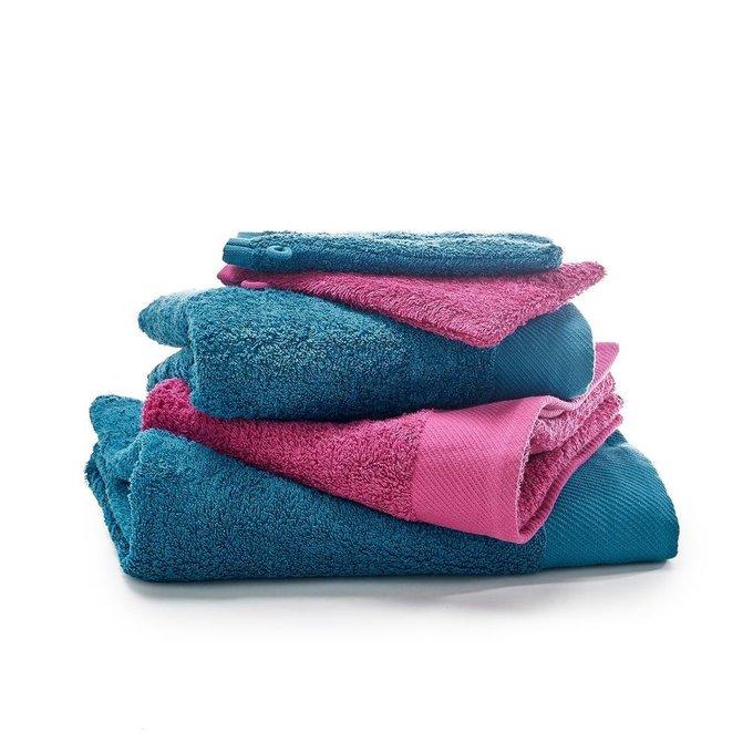 Комплект из пяти банных принадлежностей Scenario сине-розового цвета
