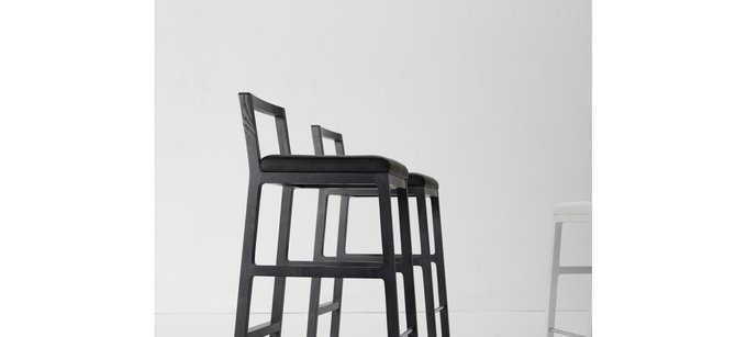 Барный стул Midori белого цвета