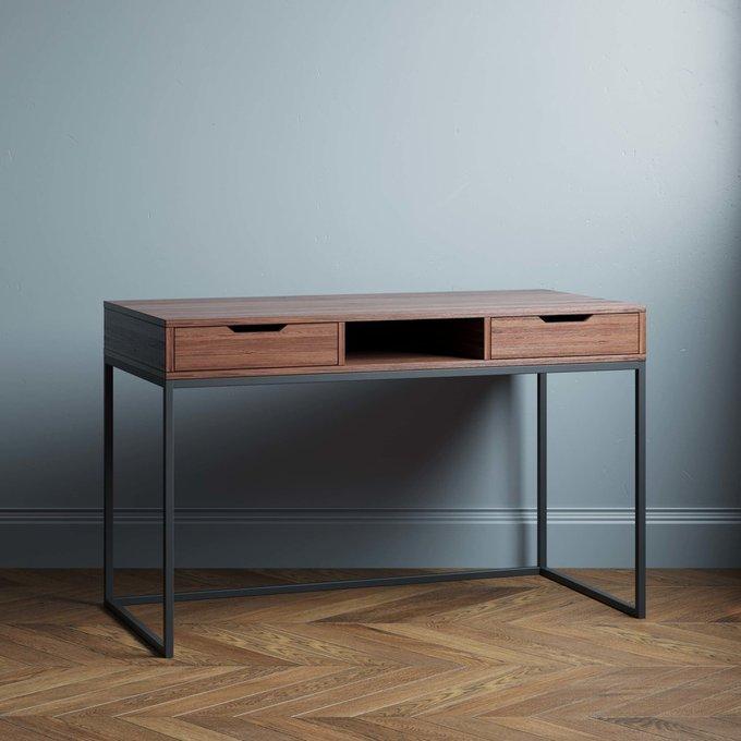 Письменный стол Ramon 160х60 цвета темный орех