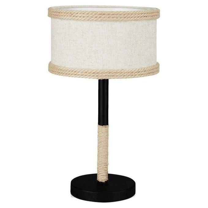 Настольная лампа Griffin с бежевым абажуром