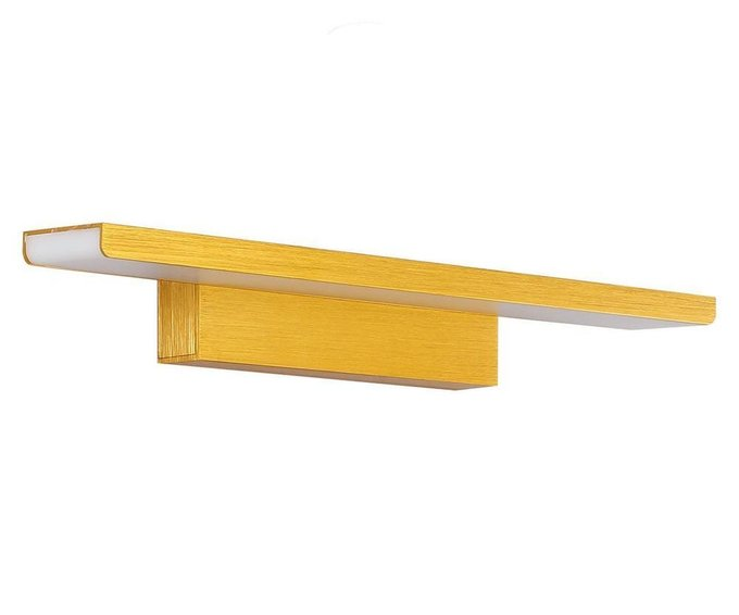 Подсветка для зеркал Проекция золотого цвета
