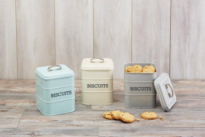 Ёмкость для хранения печенья Living Nostalgia blue