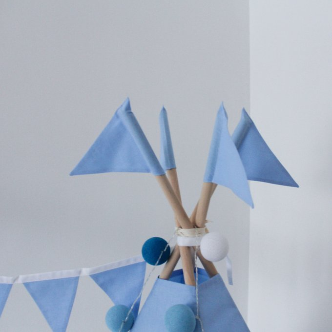 Вигвам для детей Simple Blue
