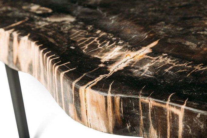 Журнальный стол Бинтау из окаменелого дерева 381087
