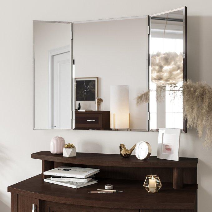 Настенное зеркало-трельяж Магна