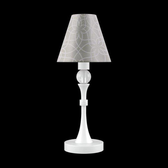 Настольная лампа Eclectic с серым абажуром