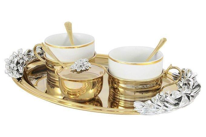 Чайный набор на две персоны Giglio