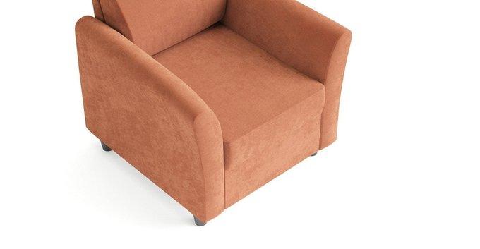 Кресло Катарина оранжевого цвета