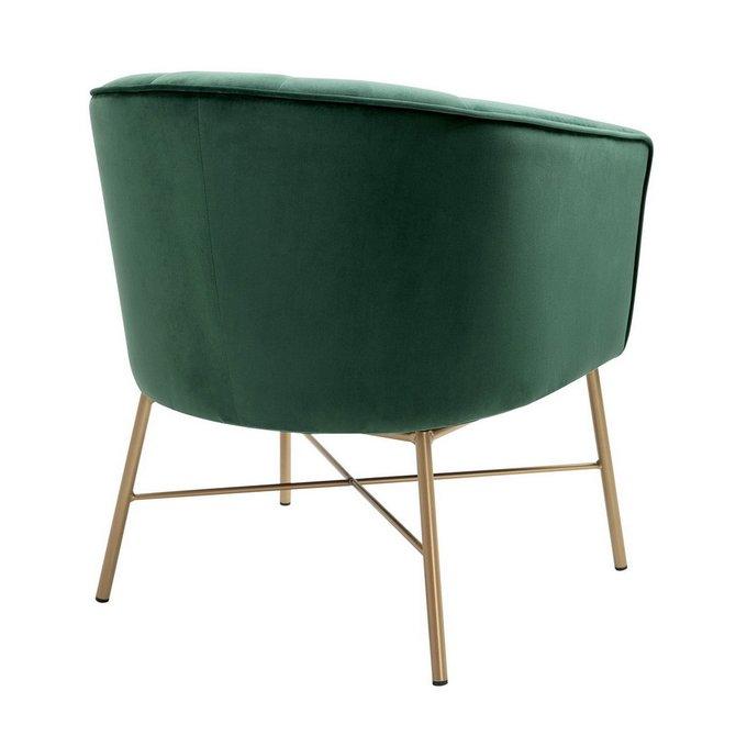 Кресло Шале зеленого цвета