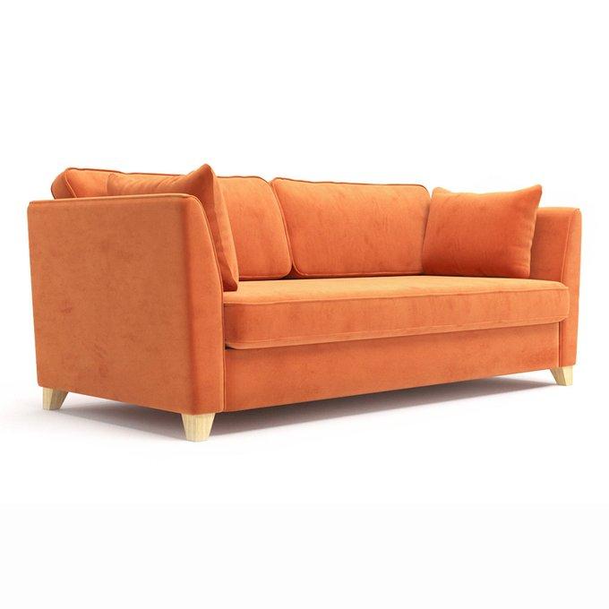 Трехместный диван Wolsly MT оранжевого цвета