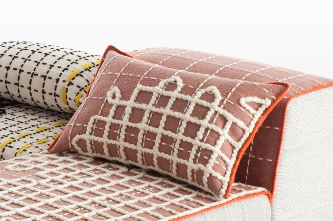 Подушка GAN Bandas Space из натуральной шерсти