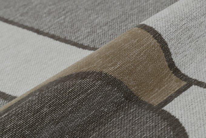 Ковер Twain Crag 160х230 серого цвета