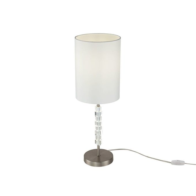 Настольная лампа Cube со стеклянными элементами