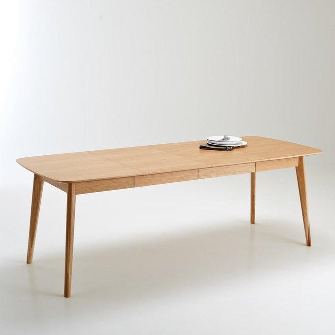 Стол раздвижной Biface с двумя удлинениями