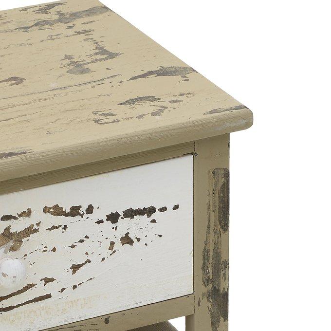Тумба с выдвижным ящиком и двумя корзинами