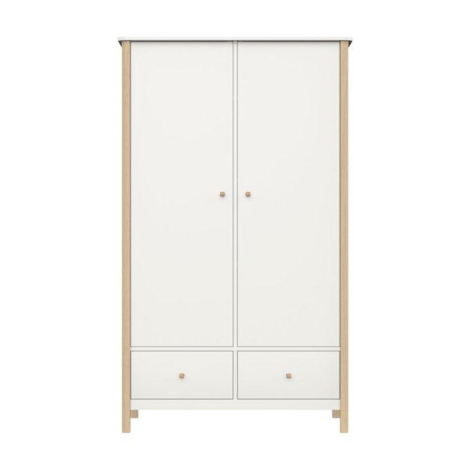 Шкаф платяной EllipseClassic высокий молочного цвета