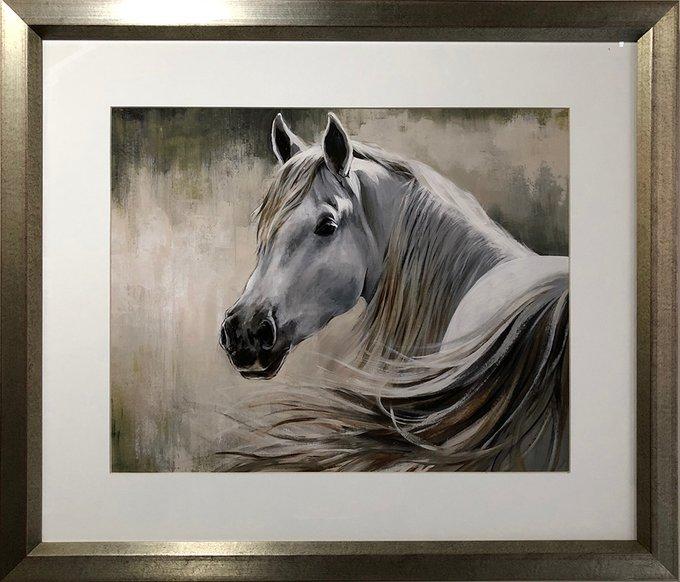Английская репродукция картины  Лошадь Кентукки