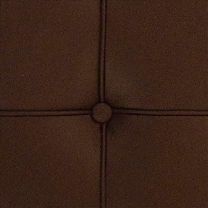 Диван Barcelona двухместный коричневого цвета