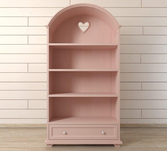 Стеллаж Adelina розового цвета