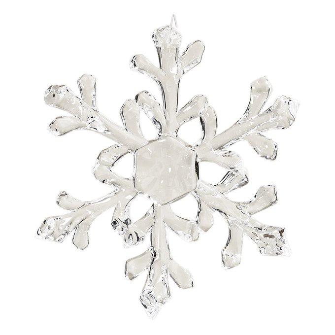 Новогоднее украшение Snowflake из акрила