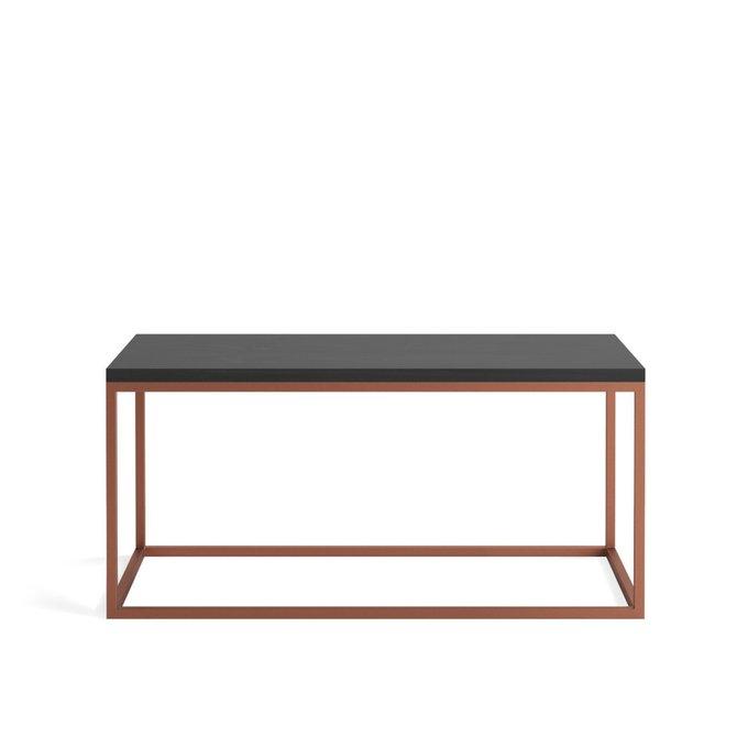 Журнальный стол Darmian copper цвета черного дуба