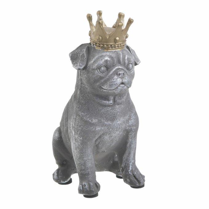 Статуэтка Dog серого цвета