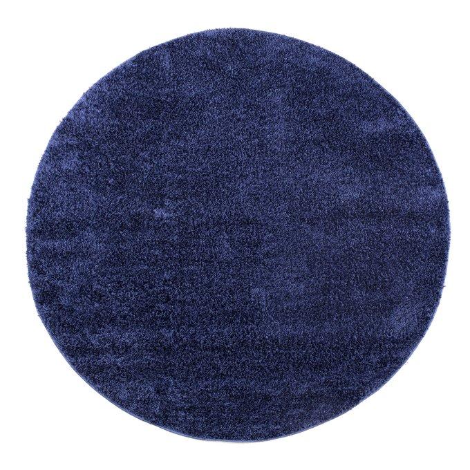Ковер синего цвета 160x160