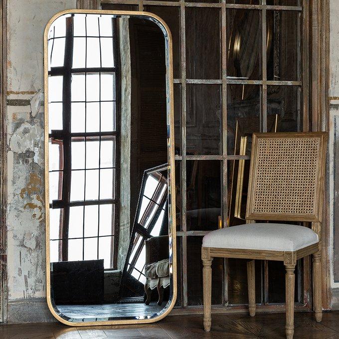 Настенное зеркало Элуиз в раме золотого цвета