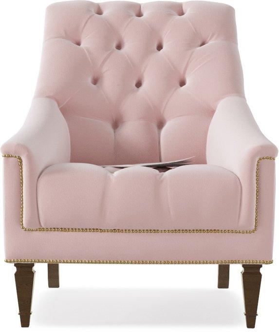 Кресло Элеганс Schnadig Flamingo розового цвета