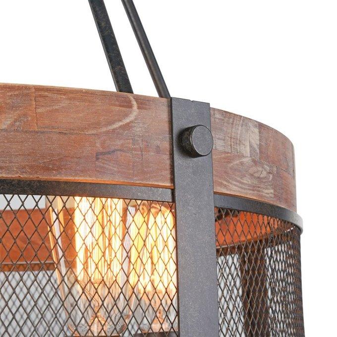 Подвесная люстра Vittoria с металлической сеткой на плафоне