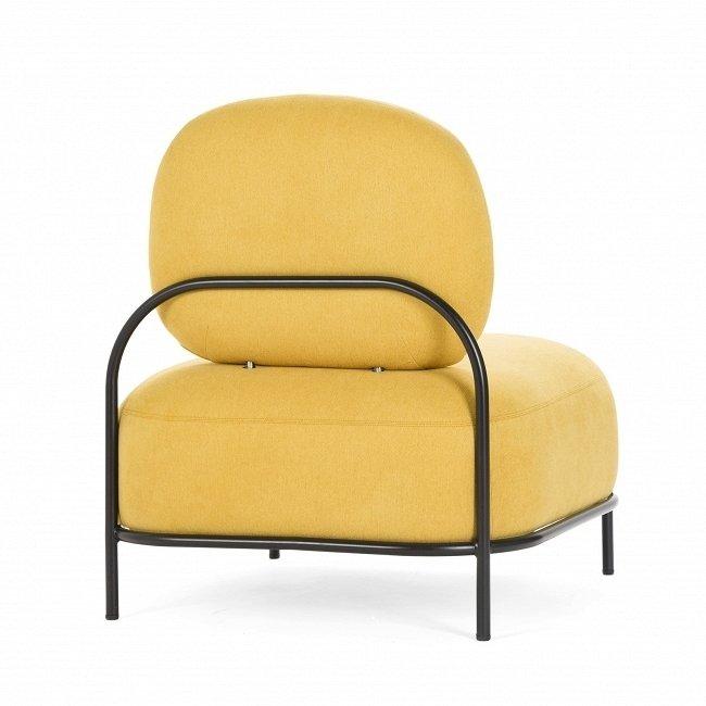 Дизайнерское кресло Pawai горчичного цвета