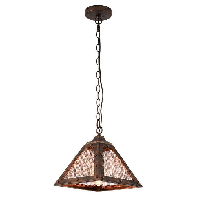 Подвесной светильник Lussole Loft Mirta с плафоном из металла