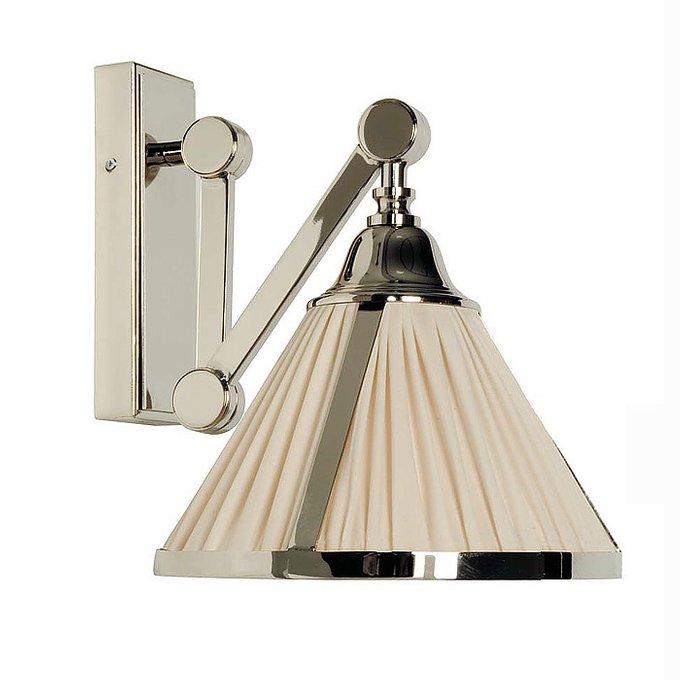 Настенный светильник Zonca с абажуром цвета слоновой кости