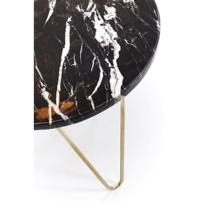 Столик приставной Key Largo с мраморной столешницей