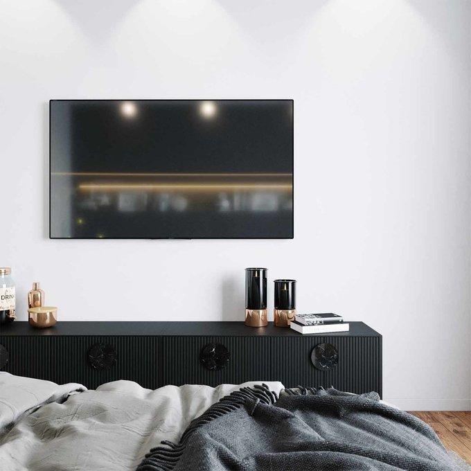 Тумба ТВ Alto черного цвета