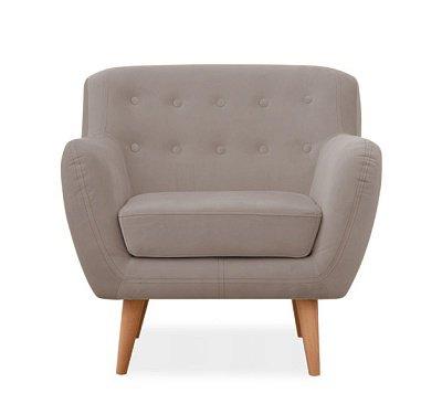 Кресло Эллинг дизайн 7 серого цвета