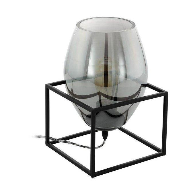 Настольная лампа Olival с плафоном из стекла