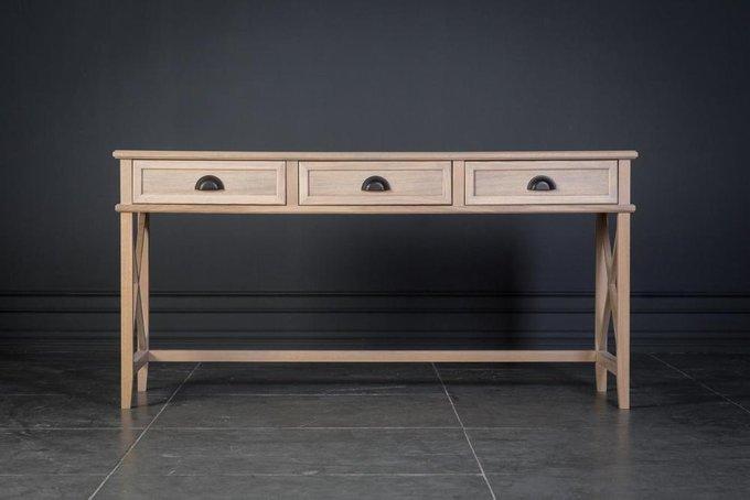 Стол письменныйКембридж с тремя ящиками