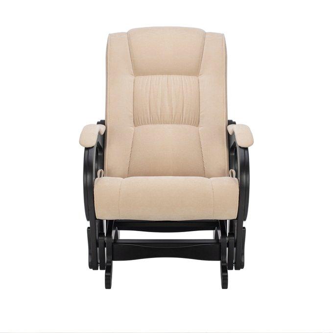 Кресло-качалка глайдер Модель 78 люкс в отделке Verona Vanilla