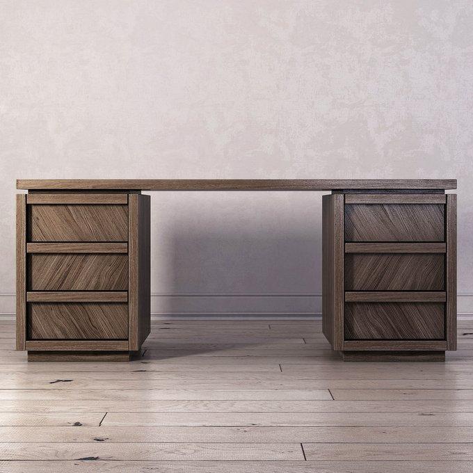 Письменный стол Brenson с шестью ящиками