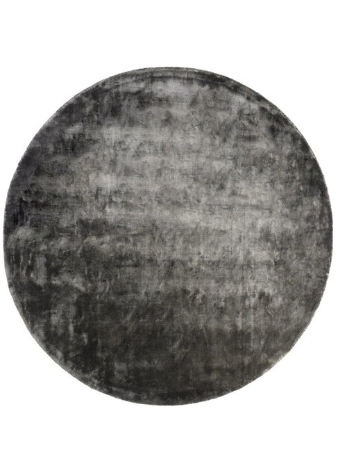 Ковер Aracelis темно-серого цвета диаметр 200