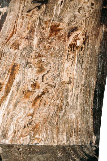Обеденный стол Солар из окаменелого дерева 381376