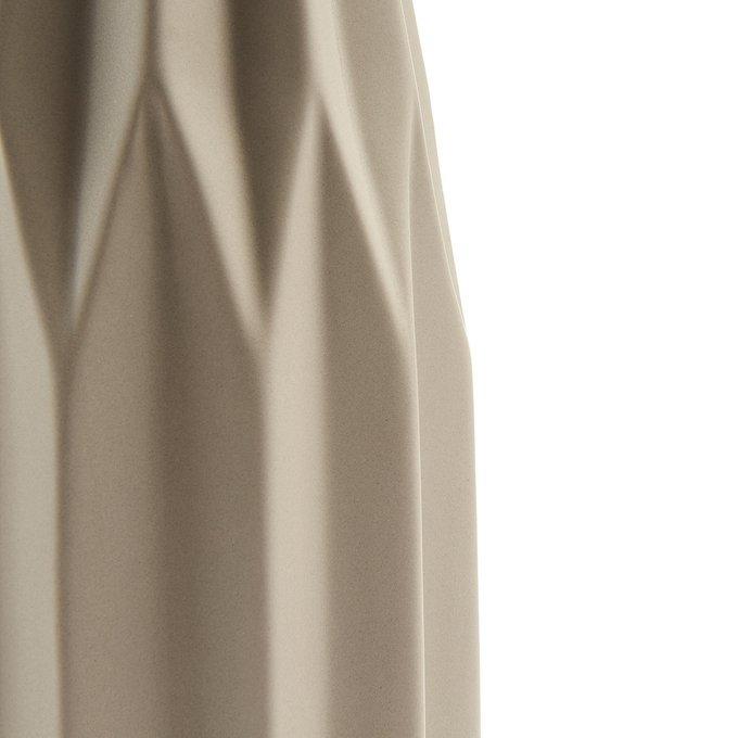 Ваза Lineal светло-коричневого цвета
