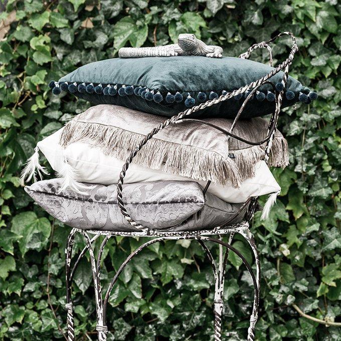 Декоративная подушка Joselyn зеленого цвета
