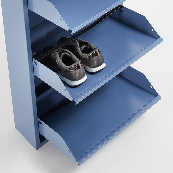 Тумба для обуви Rox синего цвета