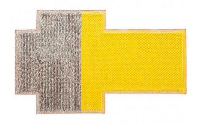 Ковер Gan Plait Big из натуральной шерсти 190х250 см