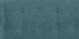 Диван прямой Роттердам синего цвета