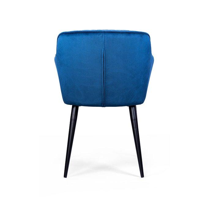 Полукресло Plume Rorte синего цвета