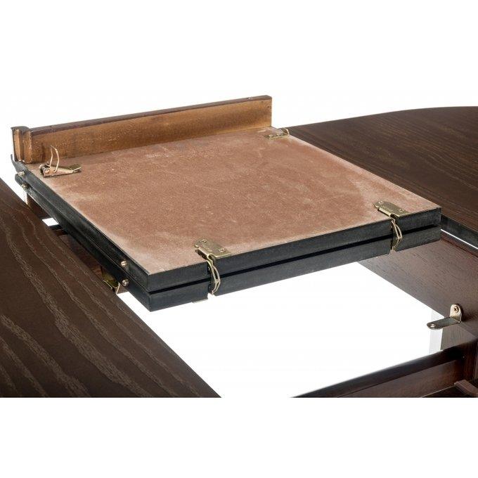 Обеденный раскладной стол Aventa tobacco
